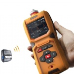 Portable methylamine gas detector